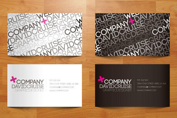 Free Creative Business Cards Vectors