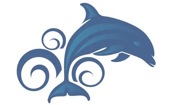 Free Dolphin Vector Art