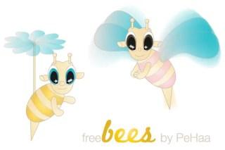 Free Bee Vector Art