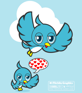 Free Blue Bird Vector