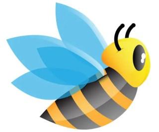 Cartoon Bee Vector Free