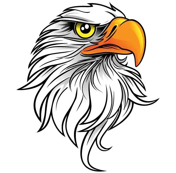 free eagle head clip art 123freevectors rh 123freevectors com free bald eagle clip art free bald eagle clip art