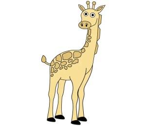 Free Giraffe Vector