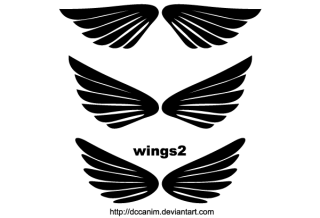 Free Wings Clip Art
