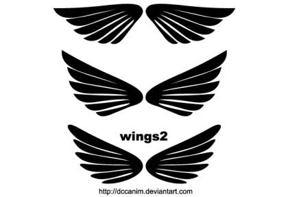 Free Wings Clip Art