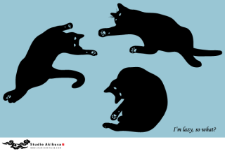 Free Black Cat Silhouettes Vector