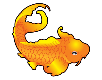 Free Japanese Koi Fish Vector