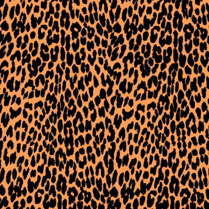 Leopard Print Vector Graphic Free