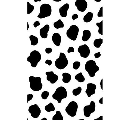 Cow Print Vector Free