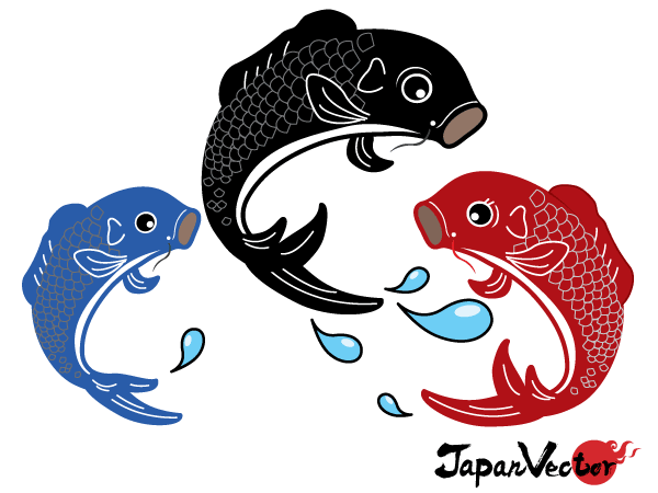 Japanese Koi Fish Vector Free Download