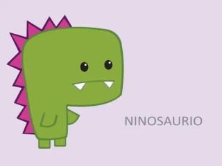 Green Dinosaur Cartoon Character Vector