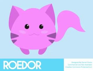 Cute Cartoon Rodent Vector