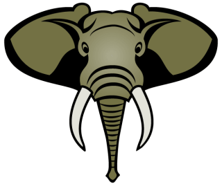 Free Elephant Head Vector Image