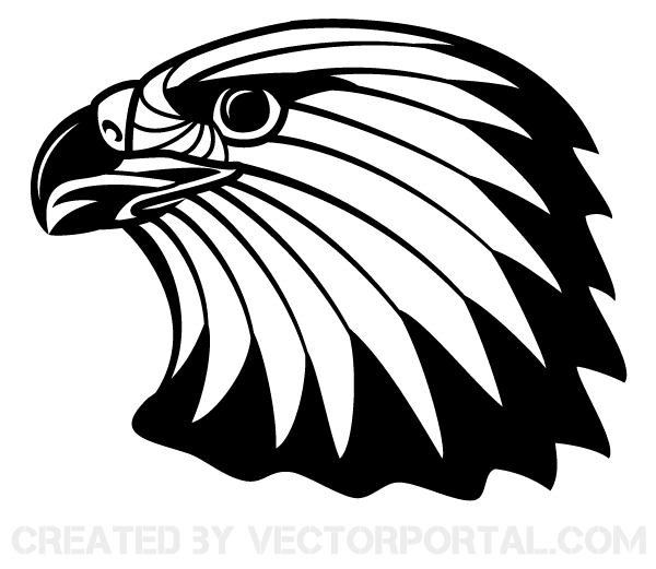 free image of eagle head clip art 123freevectors rh 123freevectors com eagle head clip art images eagle head clip art images