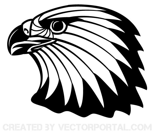free image of eagle head clip art 123freevectors rh 123freevectors com eagle head clipart eagle head clipart