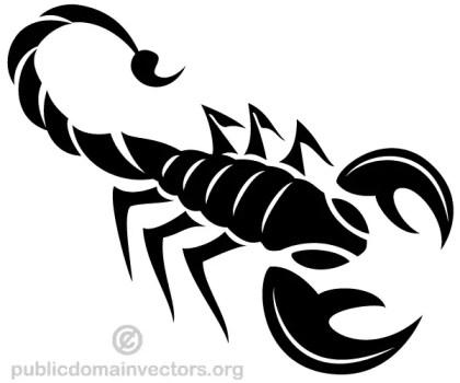 Scorpion Vector Art