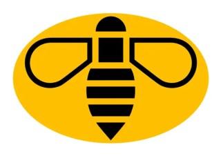 Manchester Bee Logo Design