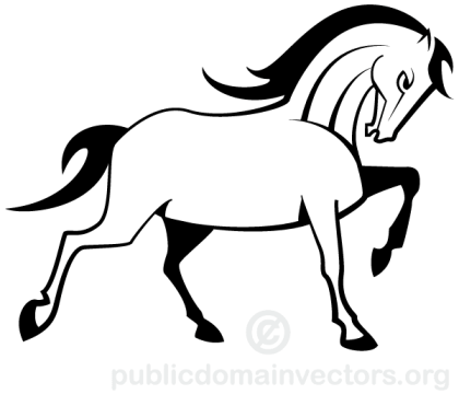 Vector Horse Image
