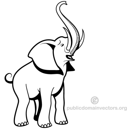 Elephant Vector Download