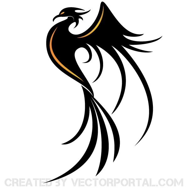 Phoenix Bird Vector Art