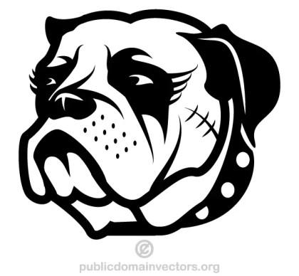 Dog Head Clip Art
