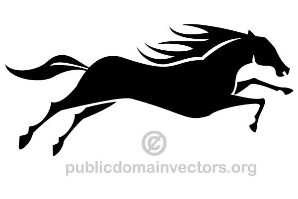 Dark Sea Horse Clip Art