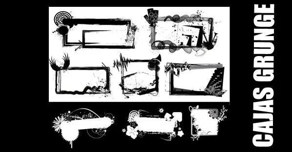 Grunge Frame Vector