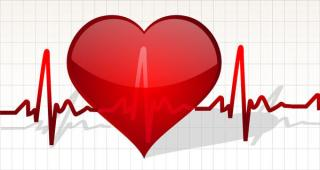 Heart Life Line free vector