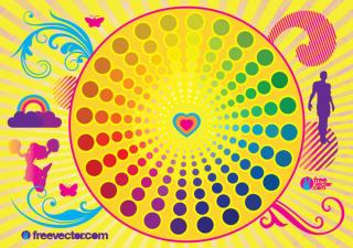 Colorful Life Vector