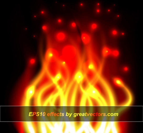 Vector Fire Effect