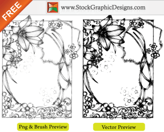 Sketchy Hand Drawn Free Vector Frames Illustration