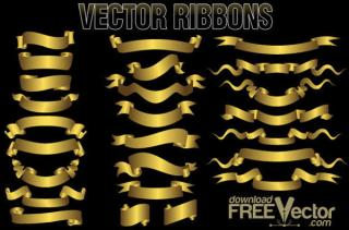 Ribbons Vector Graphics