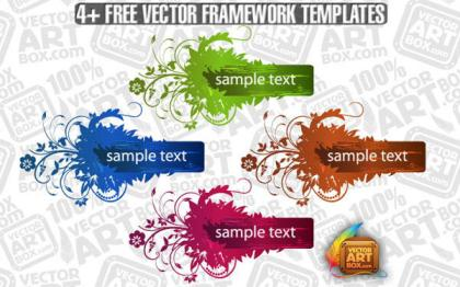Free Vector Flourish Frame