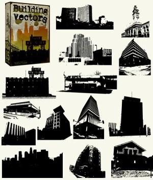 Buildings Free Vector Pack – Skyscrapers, Skylines & Old Buildings