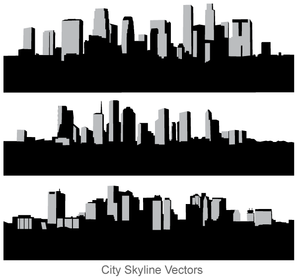 Free City Skyline Vector Art