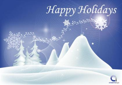 Happy Holidays Wallpaper