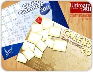 2011 calendar free vector