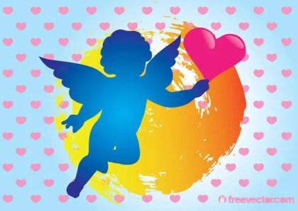 Cupid Vector Art