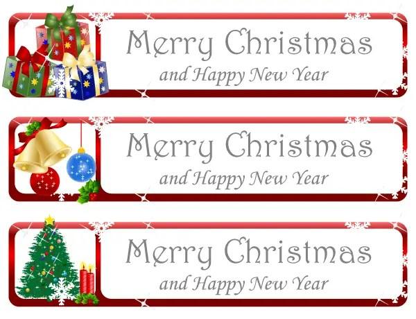 Christmas Greeting Banner Vector