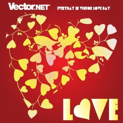 Free Love Heart Vector