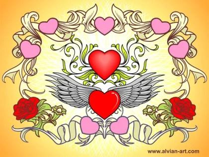 Valentine Vector Art Free
