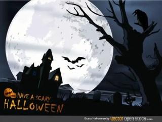 Free Scary Halloween Vector