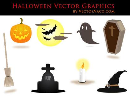 Free Halloween Vectors Illustrator