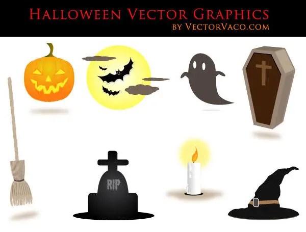 Free Halloween Vectors Illustrator