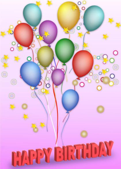 Free Vector Happy Birthday Background