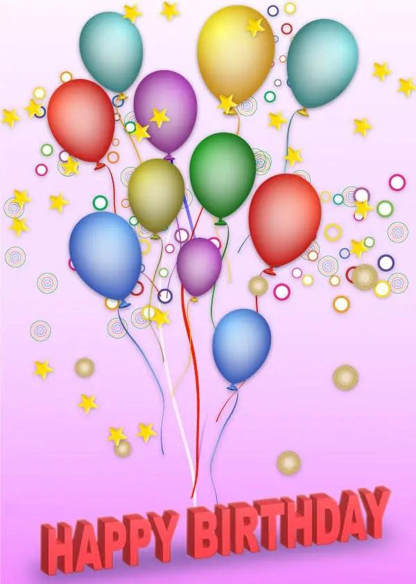 Free Vector Happy Birthday Background