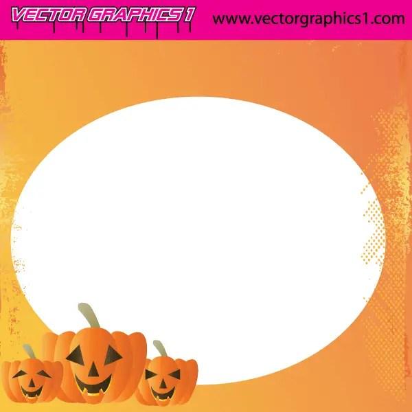 Halloween Vector Art Greeting Card