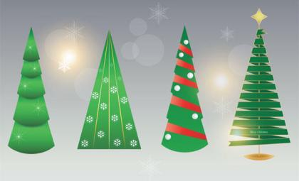 Free Christmas Tree Vector Image