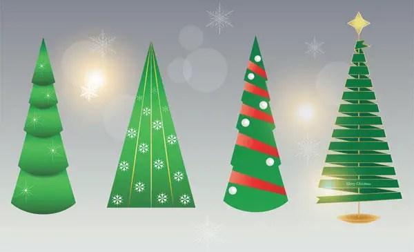 Free Christmas Tree Vector Image