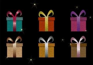 Free Gift Box Vector